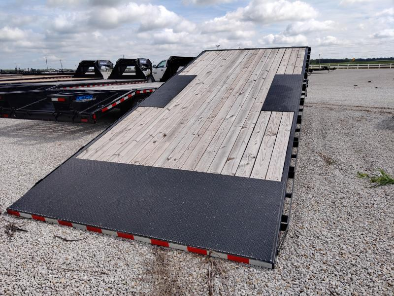 SPECIAL - 2019 Sure-Trac 102x22+8 Deckover Gooseneck 17.6K Equipment Trailer FACTORY DEMO
