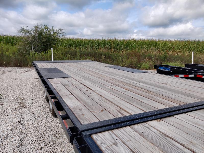 SPECIAL - 2019 Sure-Trac 102X22+8 Deckover Gooseneck 17.6K Equipment Trailer FACTORY DEMO