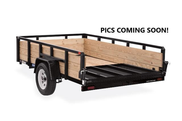 2021 Sure-Trac 5x10 3K Tube Top Three Board High Side Trailer