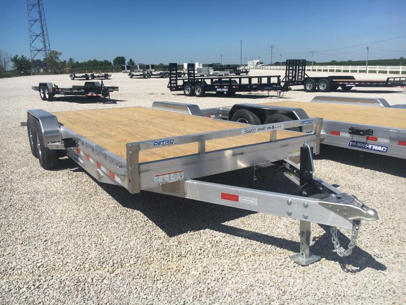 2021 Sure-Trac 7X20 Aluminum 10K Car/Racing Trailer