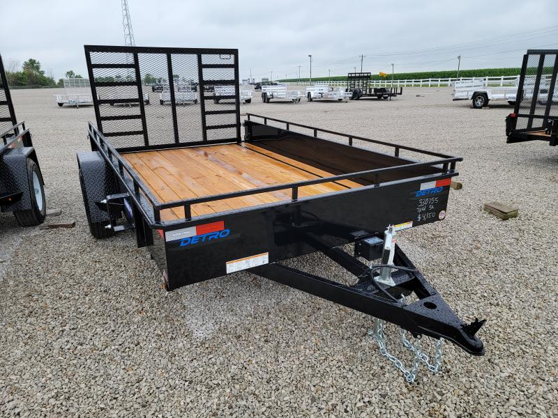 2021 Sure-Trac 7x12 Steel High Side 5K Trailer w/ Brakes