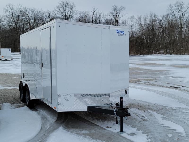2022 Cargo Express 7x14 Double Rear Door Enclosed Trailer