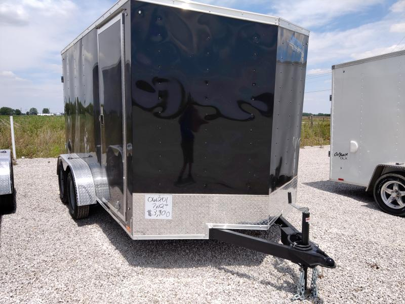 2021 Cargo Express 7X12 Enclosed DRD Trailer