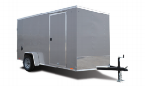 2020 Cargo Express 7X14 Enclosed Ramp Door Trailer