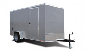 2020 Cargo Express 7X14 Enclosed Ramp Door Trailer