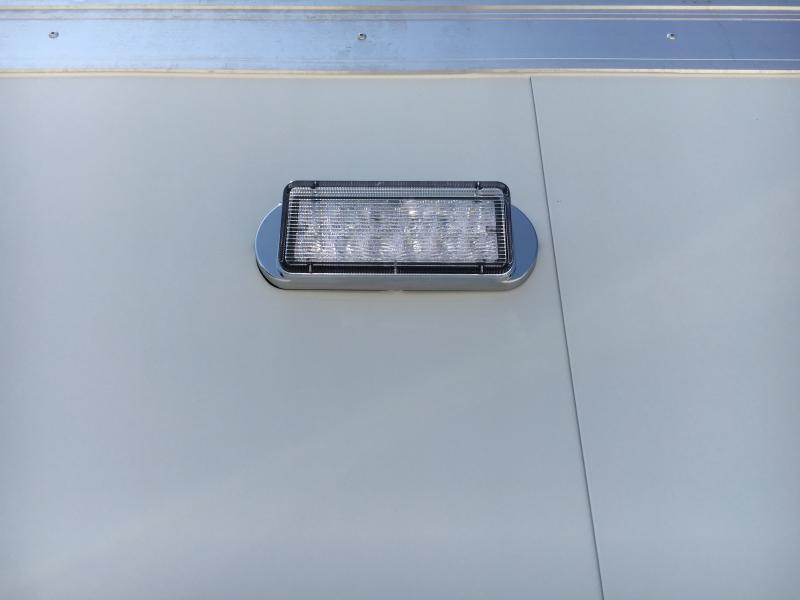 2020 ATC 8.5X24 White Aluminum Car/Racing Trailer