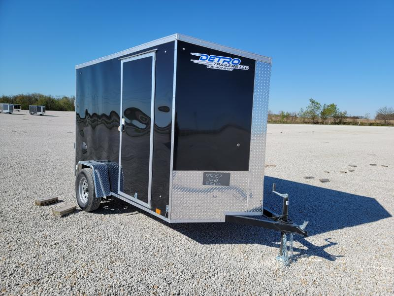 2022 Cargo Express 6X10 Rear Door Enclosed Cargo Trailer