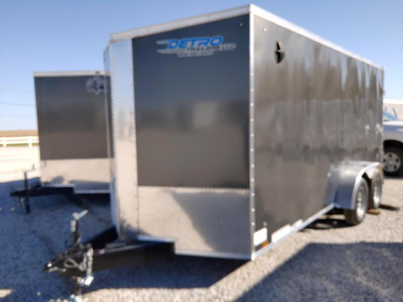 2021 Cargo Express 7x16 Enclosed Double Rear Door Trailer