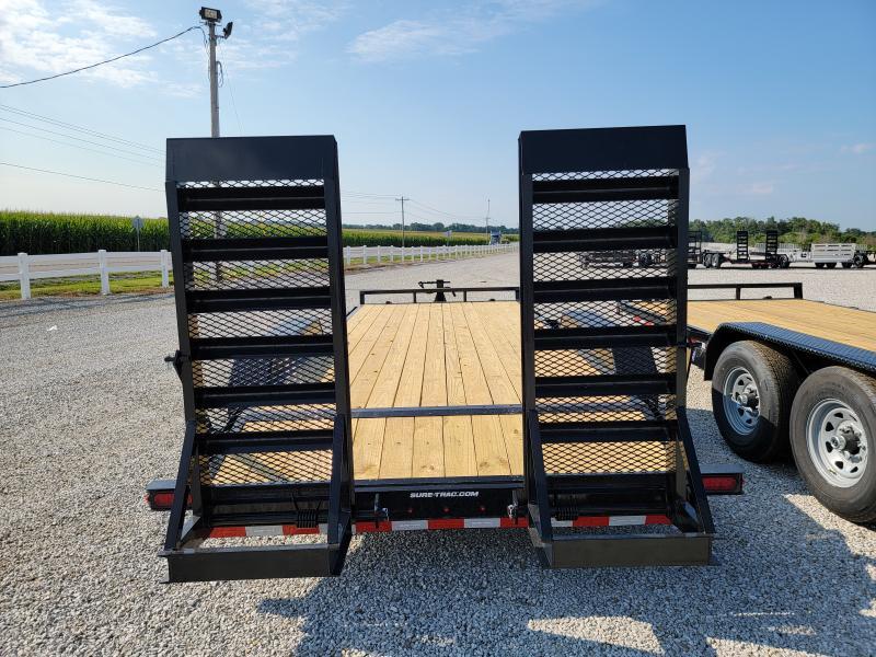 2021 Sure-Trac 7x18(16+2) 14K Equipment Trailer