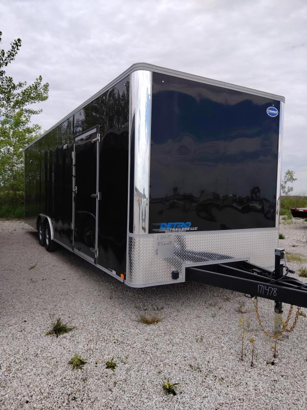 2020 United 8.5x28 Enclosed 10K Car/Racing Trailer