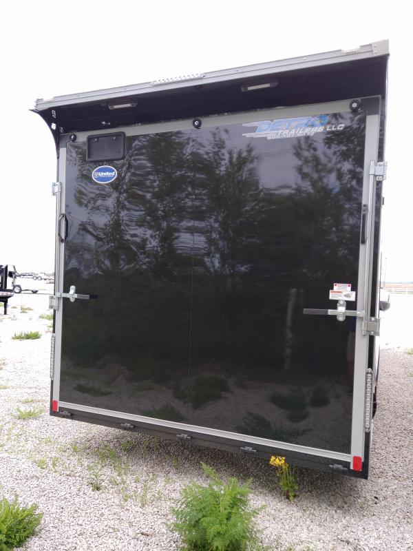 2020 United 8.5x28 Enclosed 10K Car/Racing Trailer