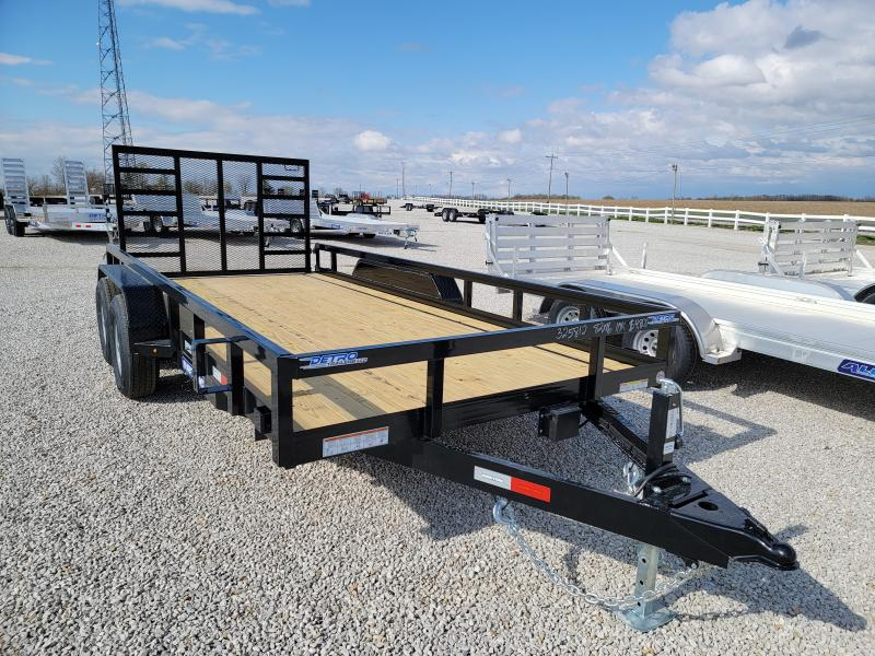 2021 Sure-Trac 7 x 16 Tube Top Utility Trailer  10K Tan