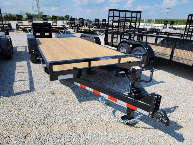 2021 Sure-Trac 7 x 15+3 Universal Ramp Equipment Traile