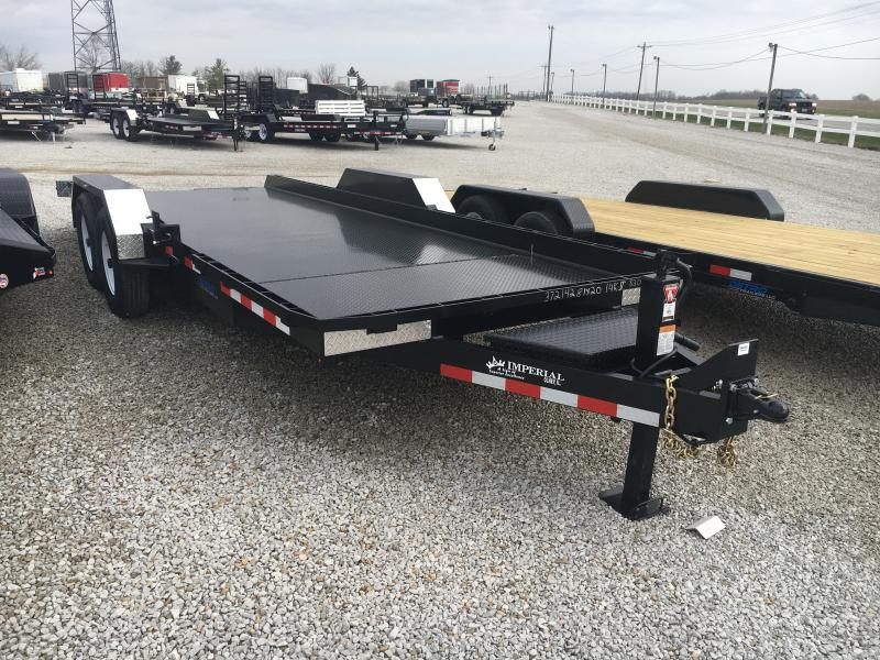 PENDING SALE - 2019 Imperial 20 Splitfloor Wideboy Flatbed Trailer