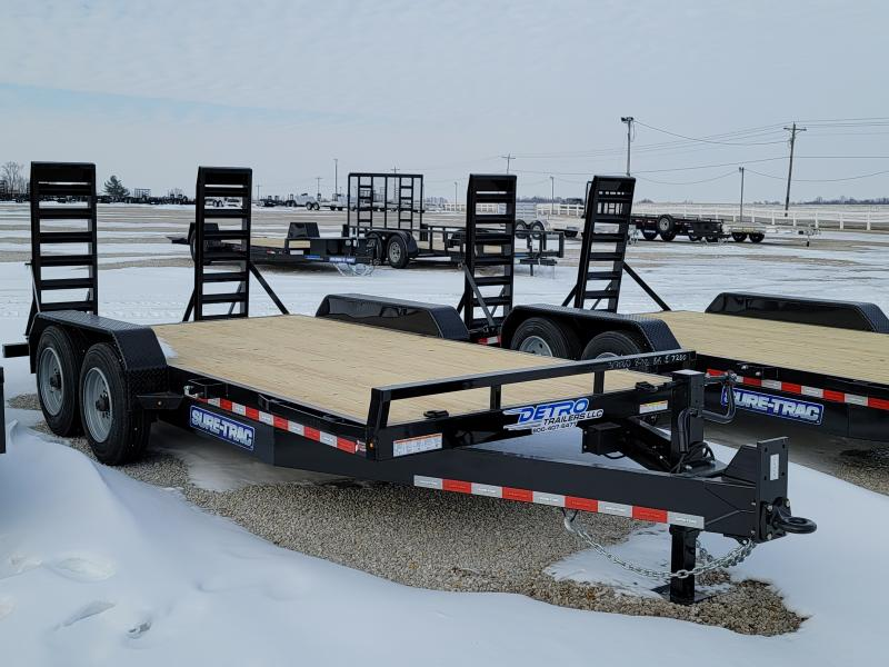 2021 Sure-Trac 7x14+2 16K Equipment Trailer