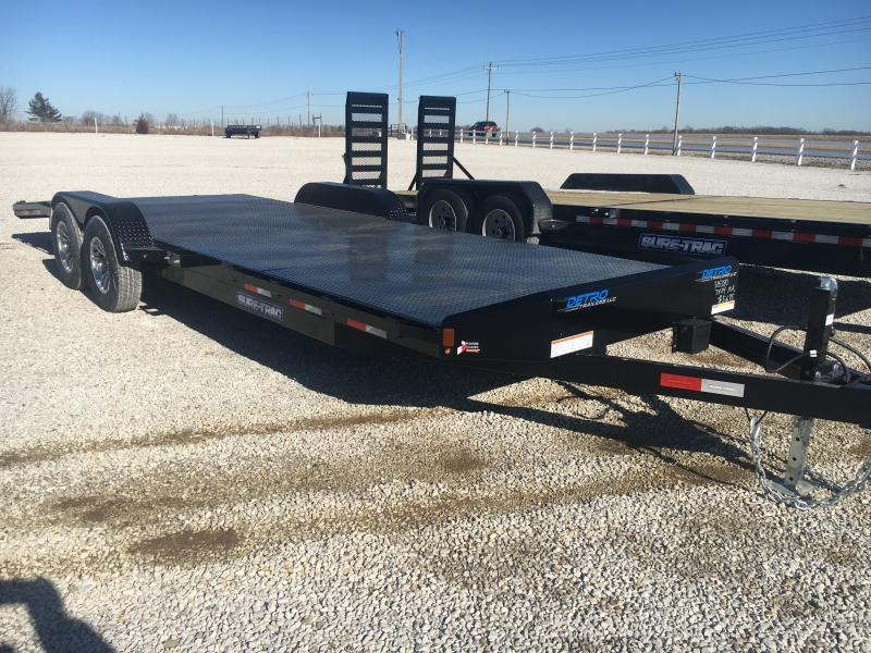 2021 Sure-Trac 7x20+4 Steel Deck 10K Car Hauler