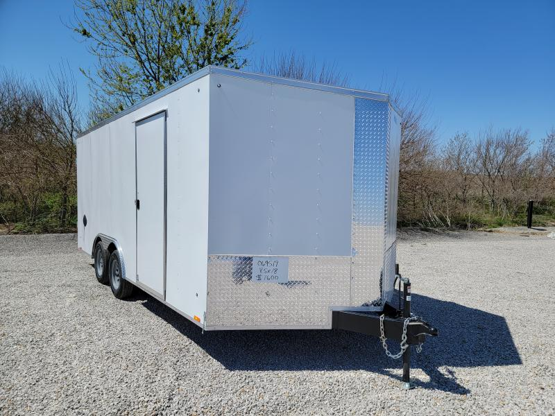 2022 Cargo Express 8.5X18 DOUBLE REAR DOORS Enclosed Cargo Trailer