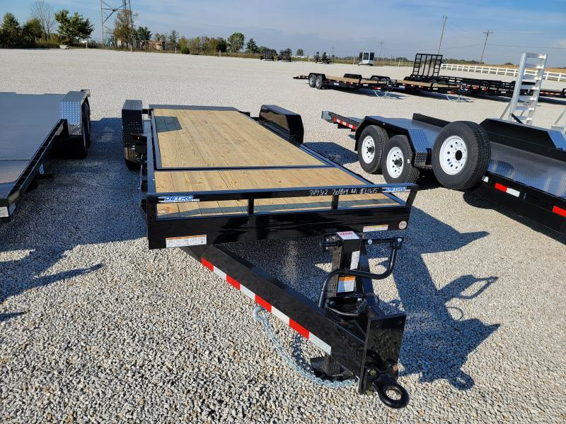 2022 Sure-Trac 7x22(18+4) 16K Tilt Bed Equipment Trailer