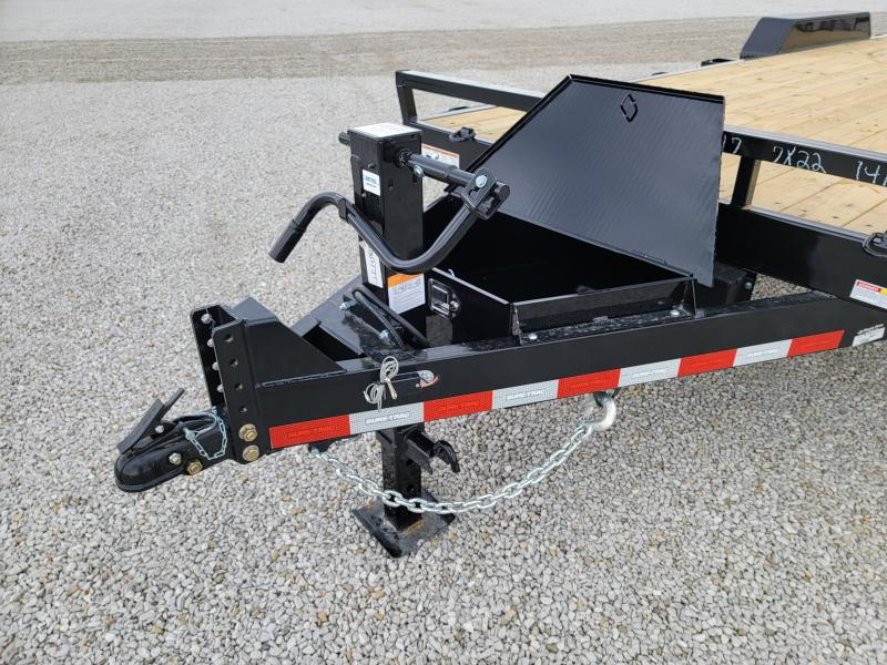 2021 Sure-Trac 7x22(20+2) 14K Equipment Trailer