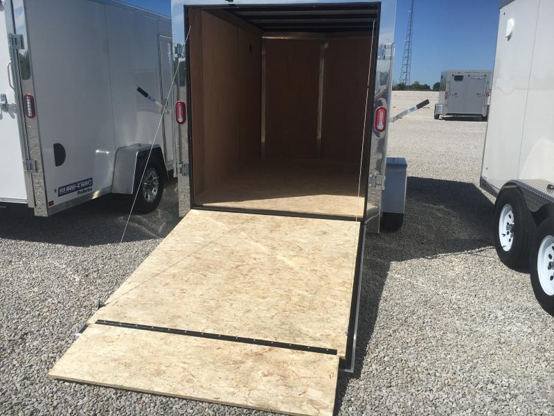 2021 Sure-Trac 6 x 10 Pro Series Wedge SA Enclosed Ramp Door Trailer