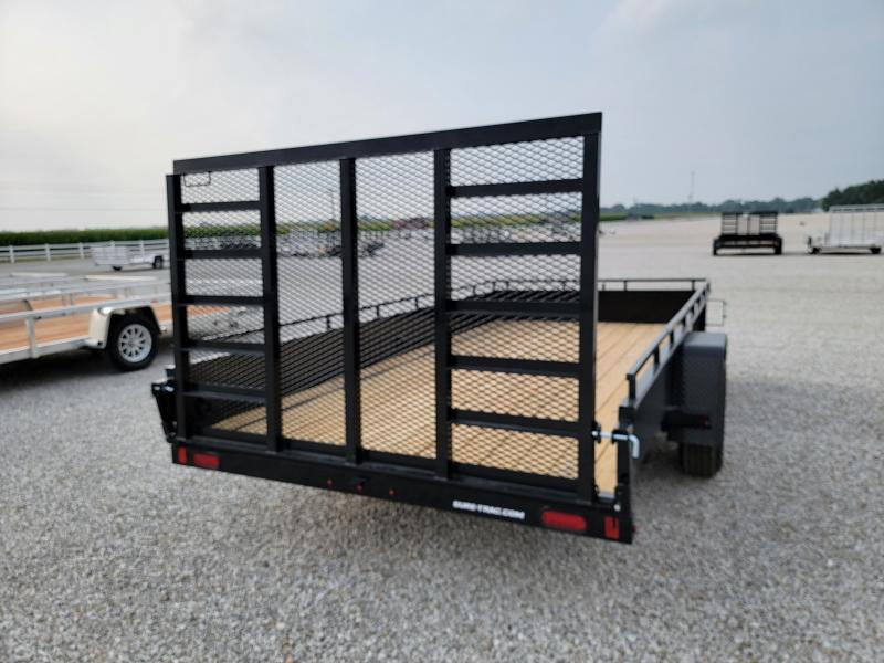 2021 Sure-Trac 7x14 Steel High Side Trailer 5K w/ Brake