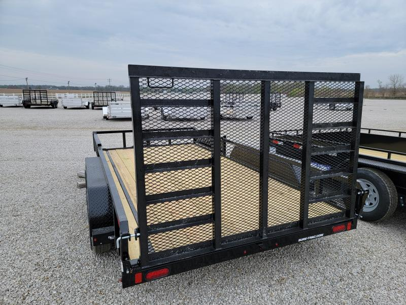 2021 Sure-Trac 7x14 Tube Top 7K ATV Trailer