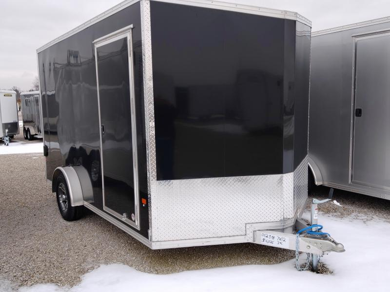 2019 EZ Hauler 7X12 Enclosed Aluminum SA Ramp Door Trailer