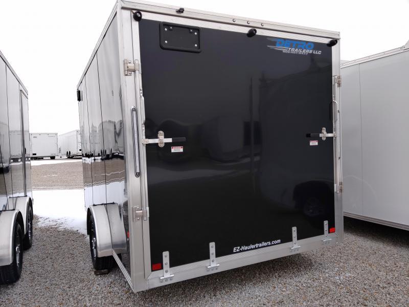 2019 EZ Hauler 7X12 Enclosed Aluminum SA Ramp Door Trailer