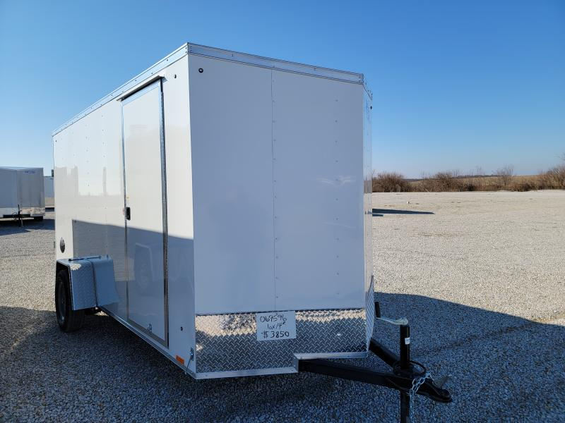 2022 Cargo Express 6X14 Rear Ramp Door Enclosed Trailer
