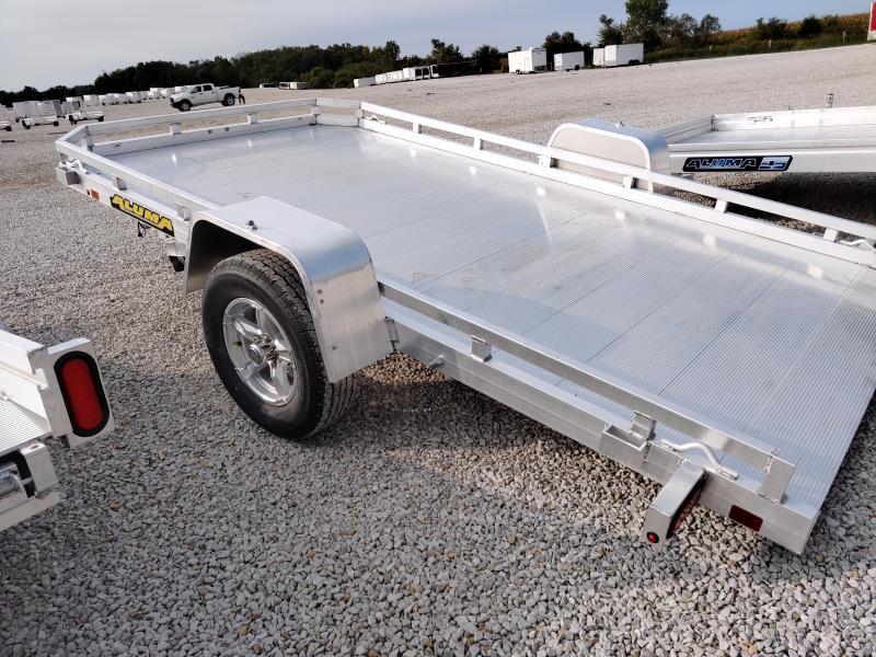 2021 Aluma 77X12 HTILT Utility Trailer