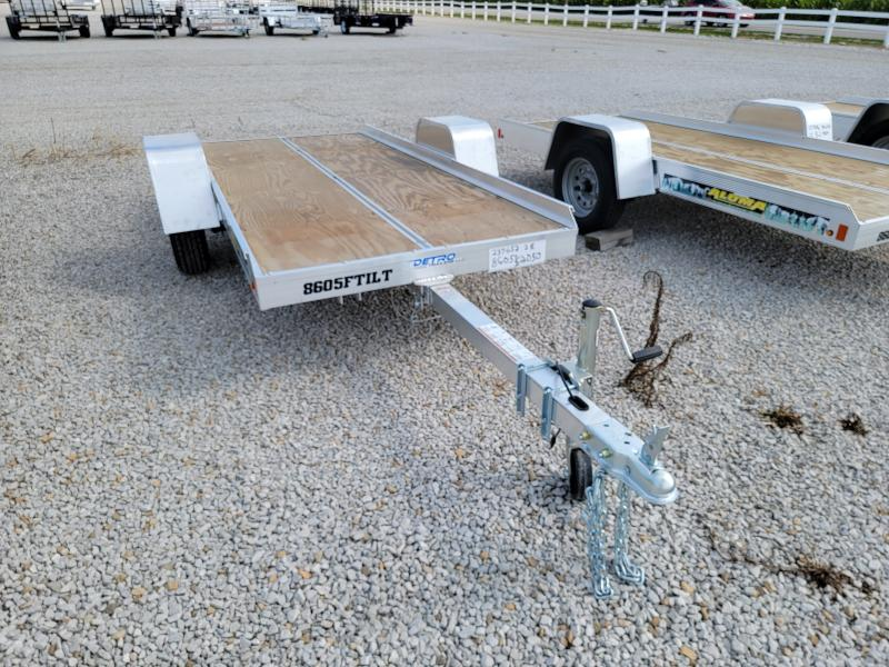 "2022 Aluma 8605 Tilt 50""x10' Aluminum Snowmobile/Utility Trailer"