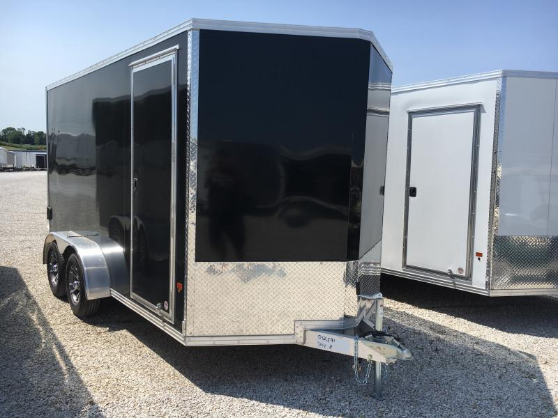 2019 EZ Hauler Aluminum 7X14 Enclosed 7K Ramp Door Trailer