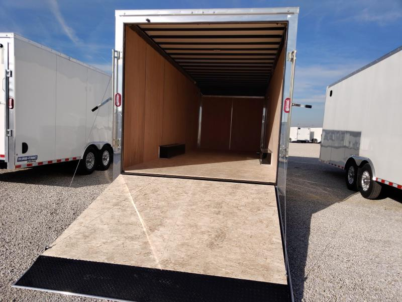 2021 Sure-Trac 8.5x24 Contractor Pro Enclosed Trailer