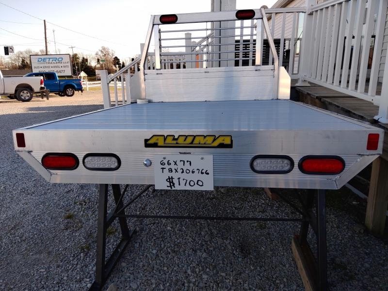 2020 Aluma 66X77 Truck Bed for Mid-Size Pickups
