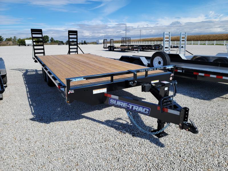 2021 Sure-Trac 8.5x22(18+4) 15K Beavertail Deckover