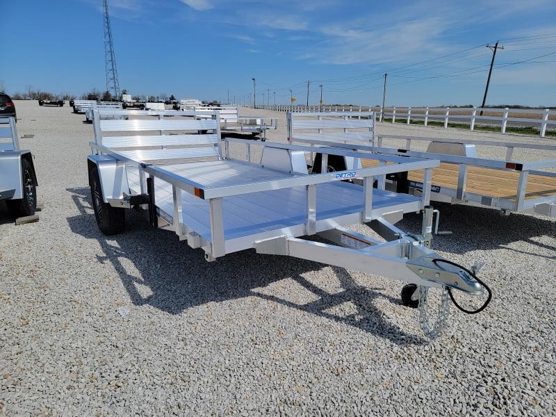 2021 Sure-Trac 6 X 12 Aluminum Tube Top Utility  3K Idler
