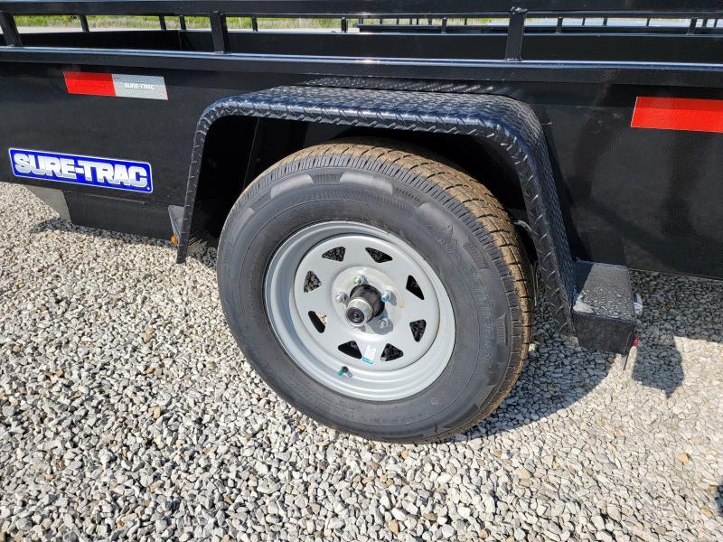 2022 Sure-Trac 7x12 Steel 3K Idler High Side Trailer