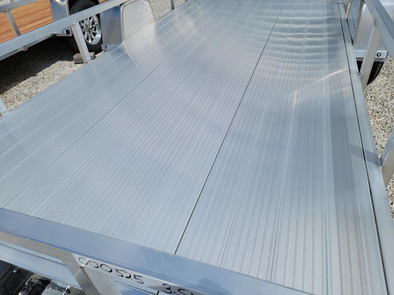 2021 Black Rhino Aluminum Deck 7x14 Utility Trailer w/ Brakes
