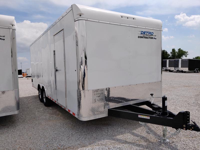2020 Sure-Trac 8.5x22 Contractor Pro BN Enclosed TA 14K RD Trailer