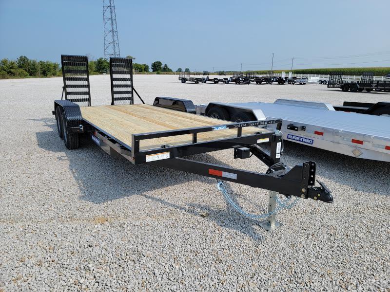 2022 Sure-Trac 7x18(16+2) 10K Equipment Trailer