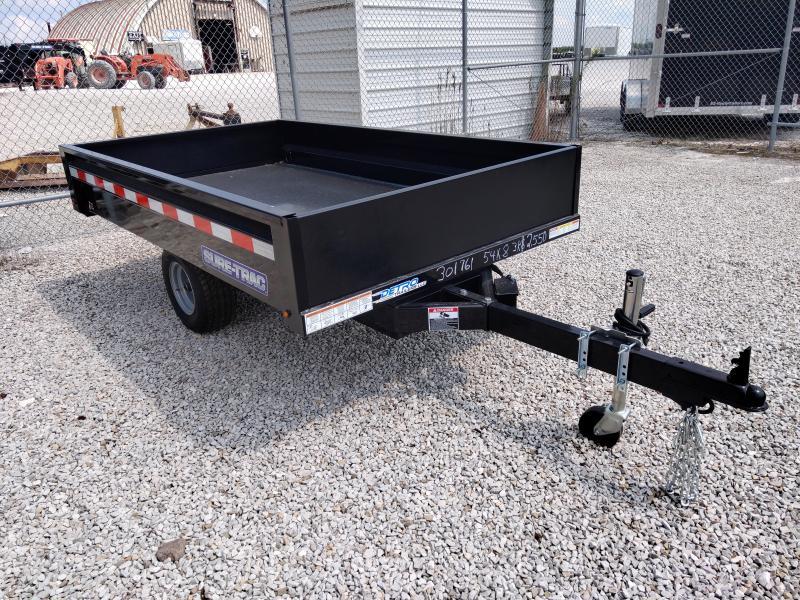 2021 Sure-Trac 4.5'x8' Homeowner Utility Dump Trailer