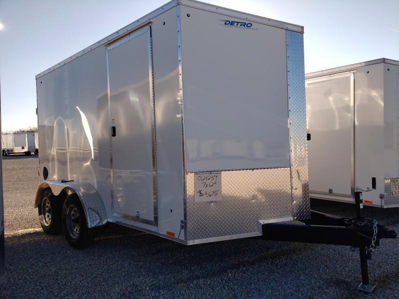 2021 Cargo Express 7x12 Ramp Door Enclosed Trailer