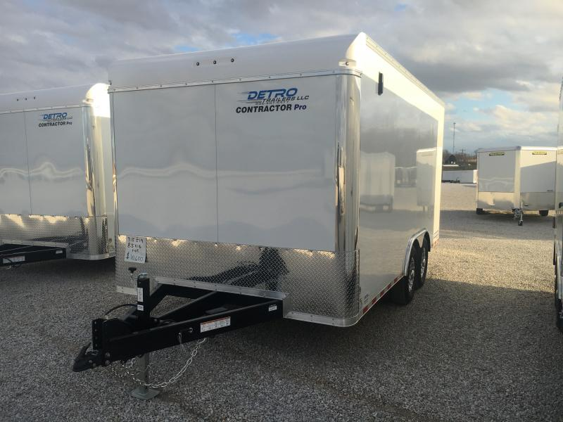 2021 Sure-Trac 8.5x16 Contractor Pro Enclosed Trailer