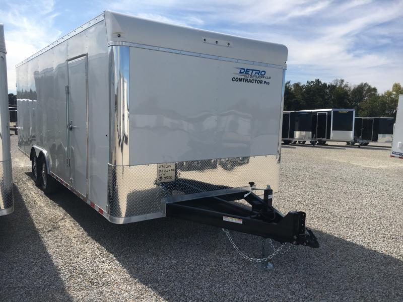 2020 Sure-Trac 8.5x22 Contractor Pro BN Enclosed TA 14K DRD Trailer