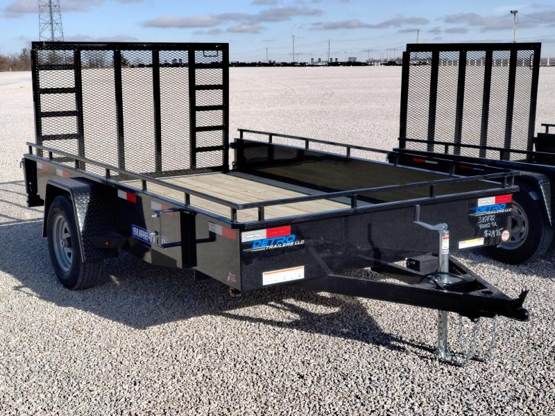 2021 Sure-Trac 7x12 Steel High Side Trailer 5K w/ Brake