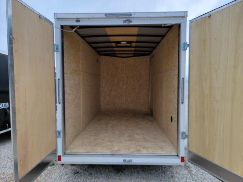 2021 Rhino 6x12 Double Rear Door Enclosed Trailer