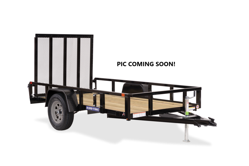 2021 Sure-Trac 6x10 Tube Top 3K Utility Trailer