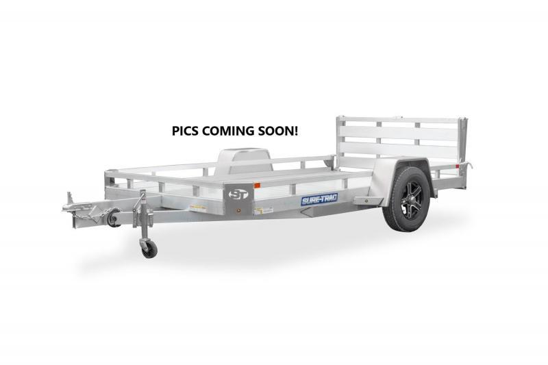 2021 Sure-Trac 6x12 Aluminum Tube Top Utility 3K Idler