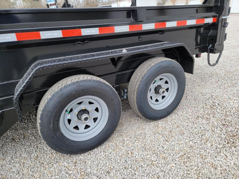 2021 Sure-Trac 6 x 12 SD Low Profile Dump Trailer  10K