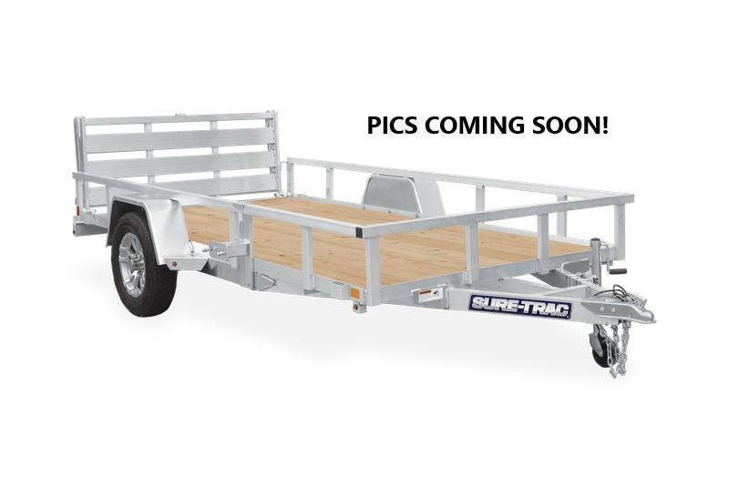 2021 Sure-Trac 6x12 Aluminum Tube Top 3K Utility Trailer